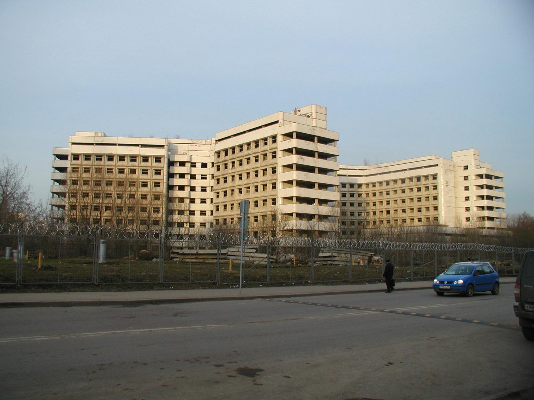 Заброшенная больница в москве фото 5